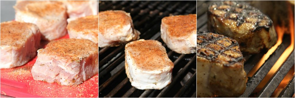 Grilling Thick Pork Chops