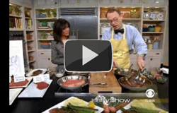 """""""Preparing the Perfect Steak"""" on The Early Show"""
