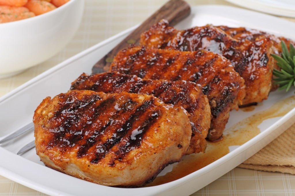 View Glazed Pork Chops
