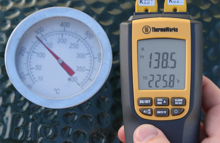 Dome Temperature vs Grill Temperature