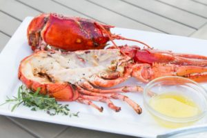 Grilled Lobster should be cooked to 140°F