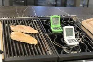 Chicken breast temp