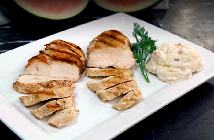 3 Keys to Perfectly Grilled Chicken Breasts
