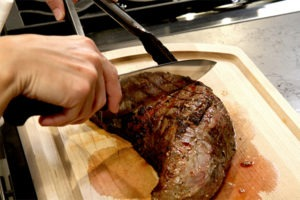 Slicing the Tri-Tip