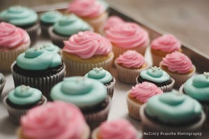 Cupcakes baked at 4,900 ft.
