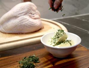 Preparing the Turkey Breast
