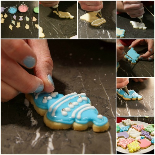 Cookie Decorating Collage