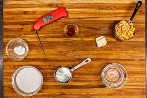 Peanut brittle ingredients