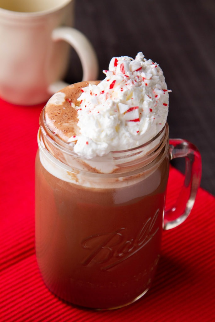 Homemade hot chocolate recipe and temperatures