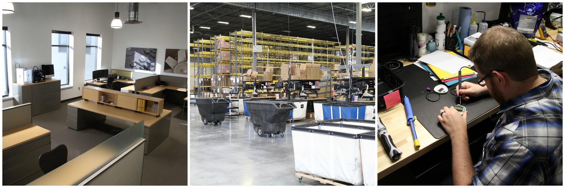 Design Studio, Warehouse, Tech Support