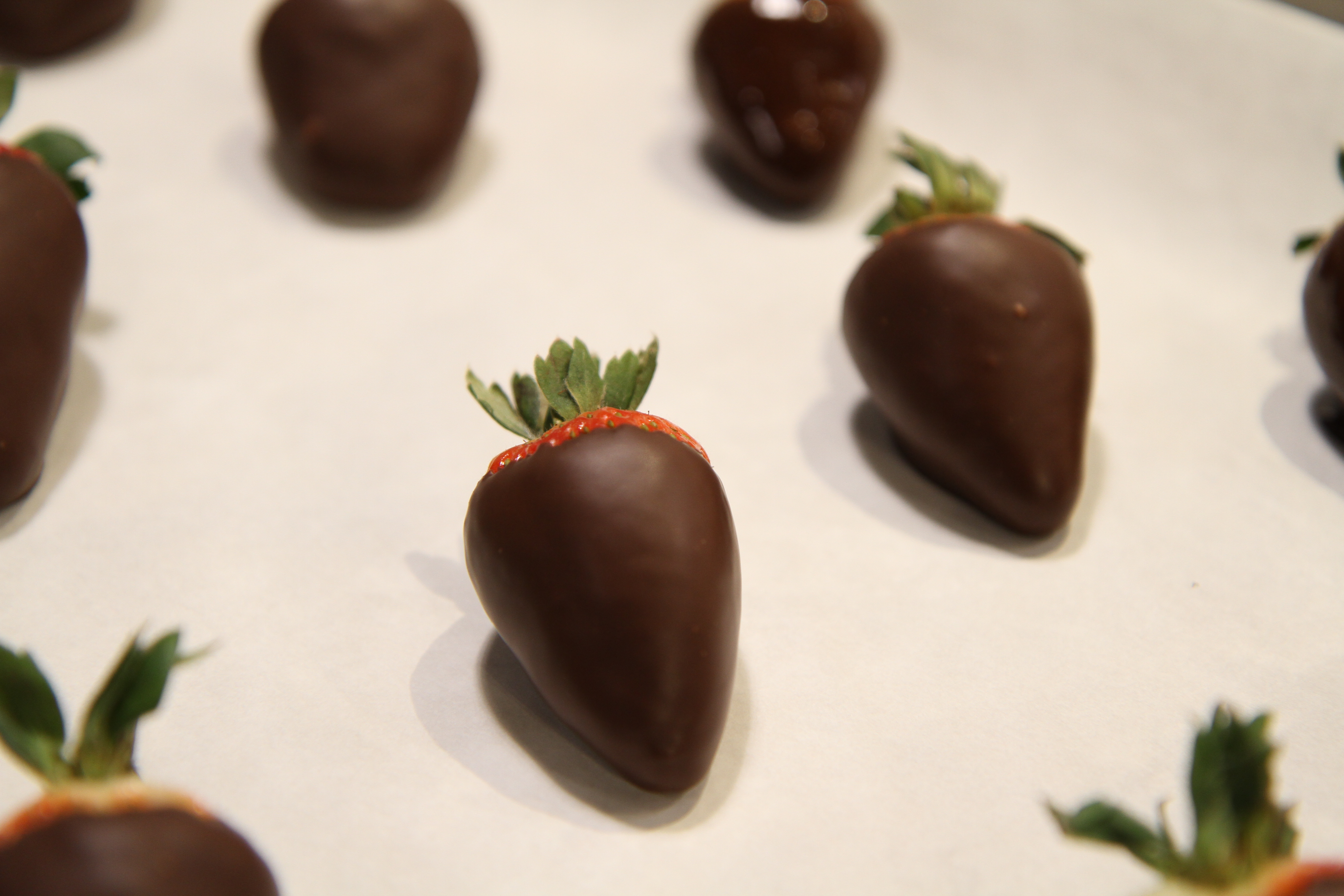 Valentine S Day Chocolate Dipped Strawberries Thermoworks