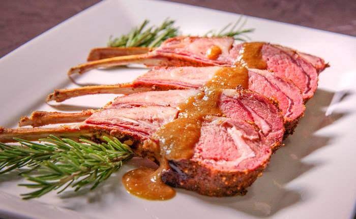 Easter Rack of Lamb
