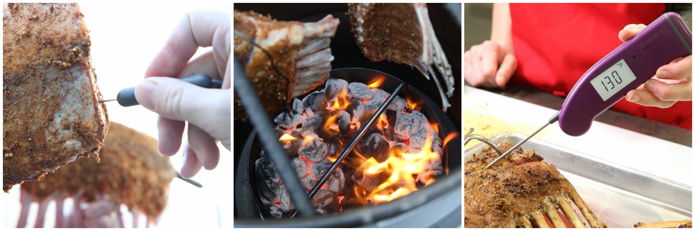 Lamb Collage 4 - Rack of Lamb cooking temperature