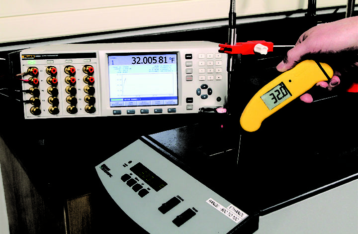 ThermoWorks' Accredited Calibration Lab