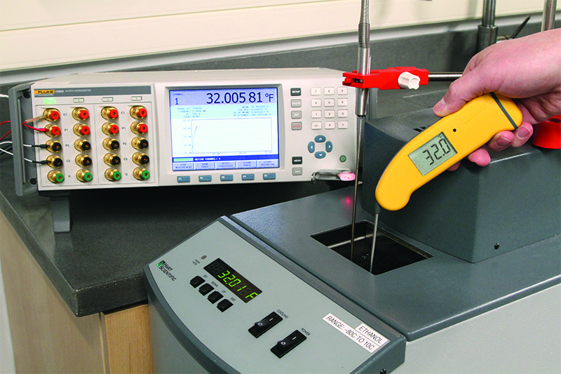 Accurate calibration lab