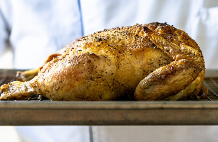 Learn to make delicious roast chicken