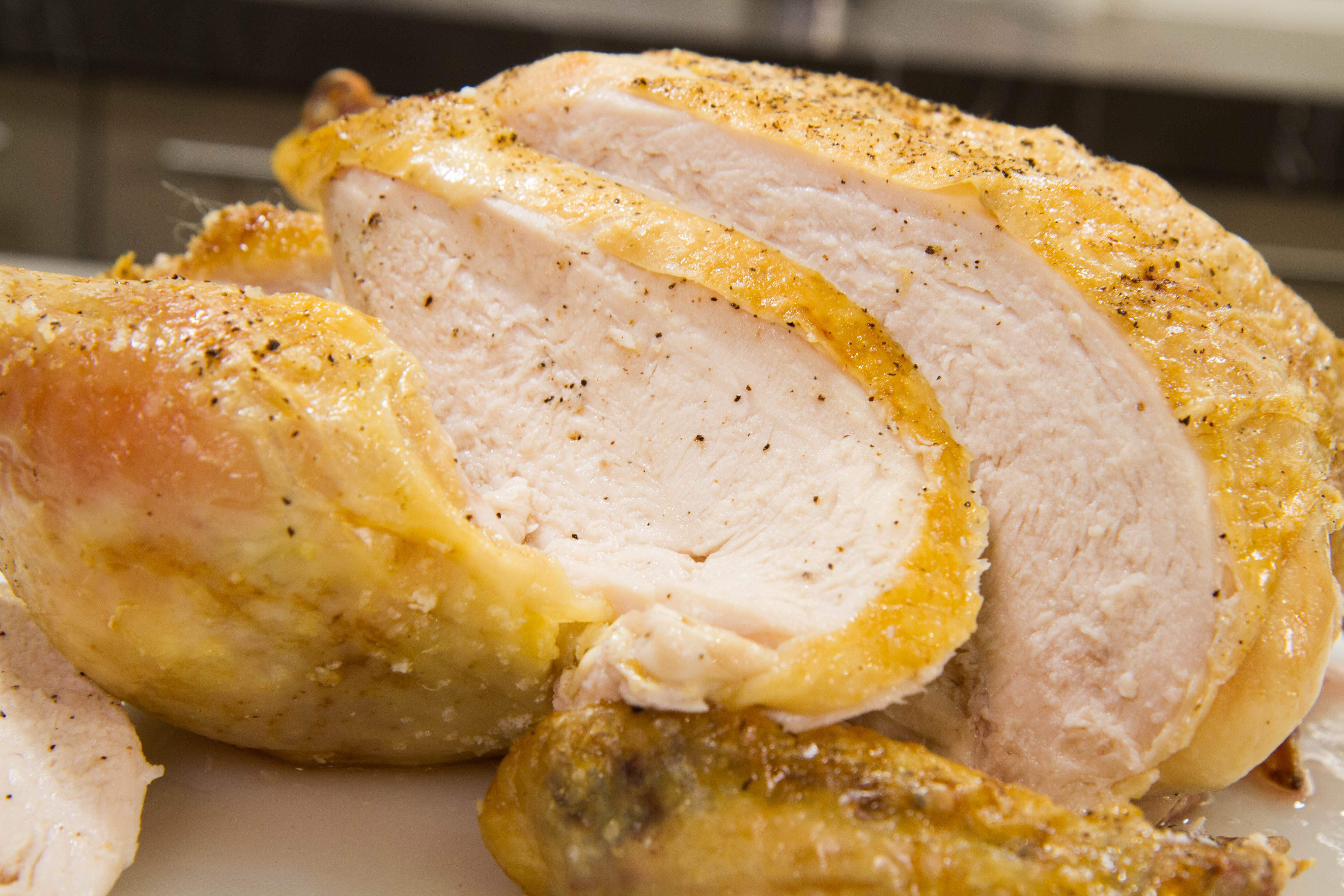 temp for chicken breast in oven