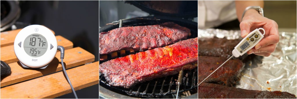 what temperature to smoke ribs