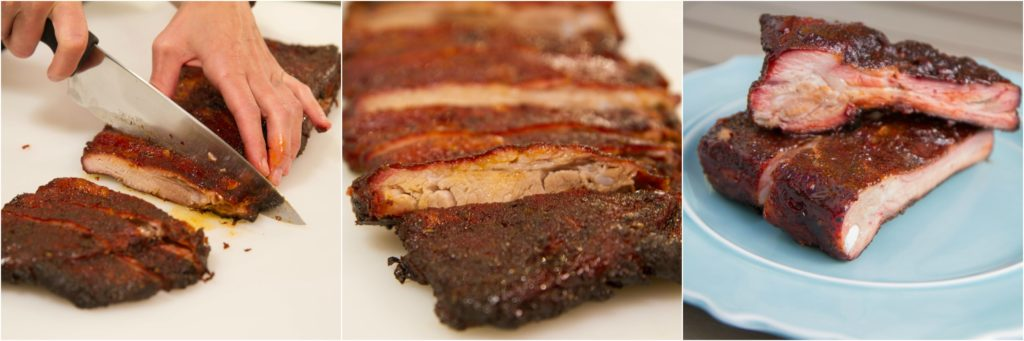 how to cut spare ribs