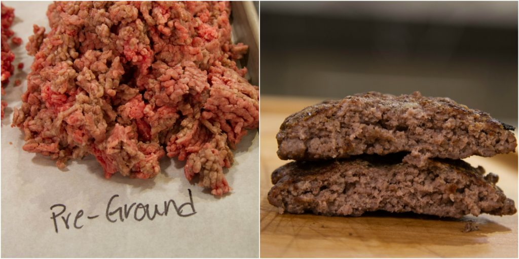 Burger Collage Pre-Ground Before and After
