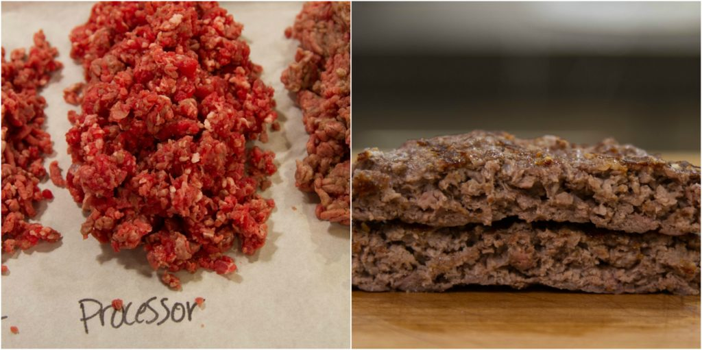 Burger Collage Processor Before and After