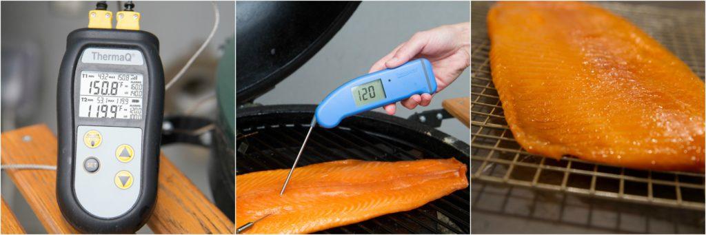 Smoked Salmon Temp