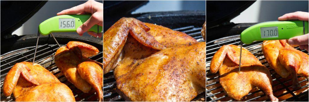 BBQ Chicken Temp Spot Check