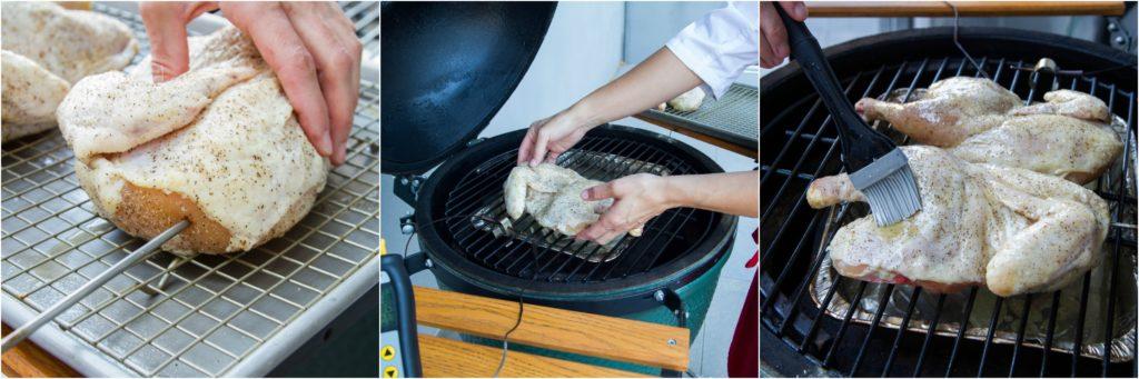 BBQ Chicken on BGE
