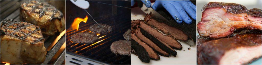 Grilling vs BBQ final shots