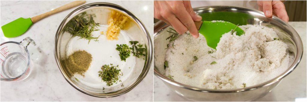 Salt Crust preparation
