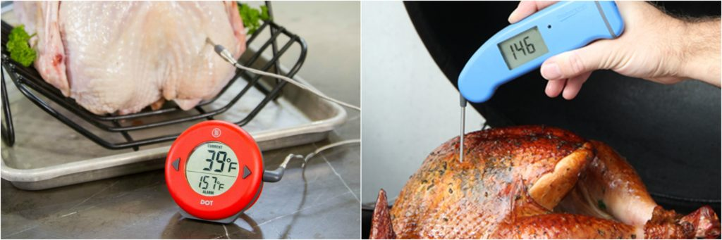 Turkey Thermometer Placement