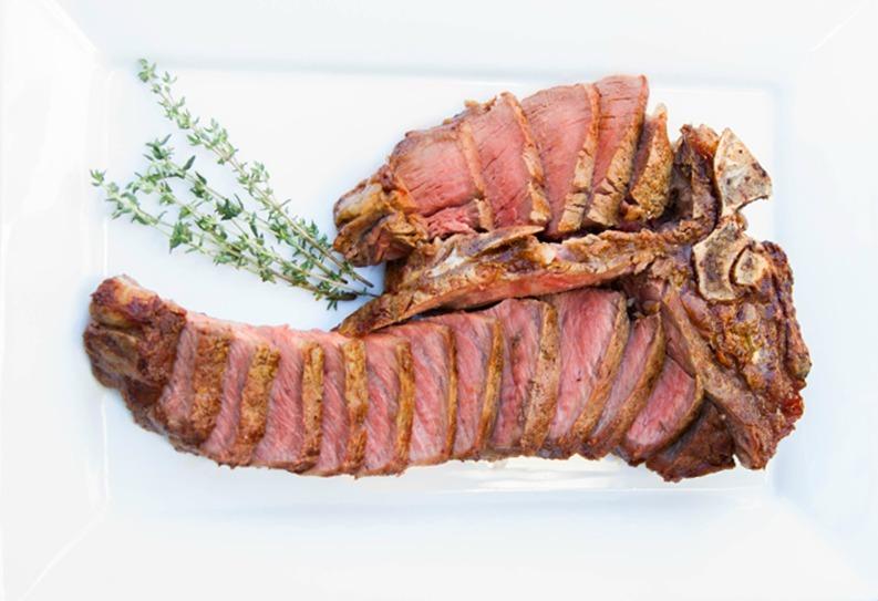 Porterhouse steak for a fraction of restaurant prices