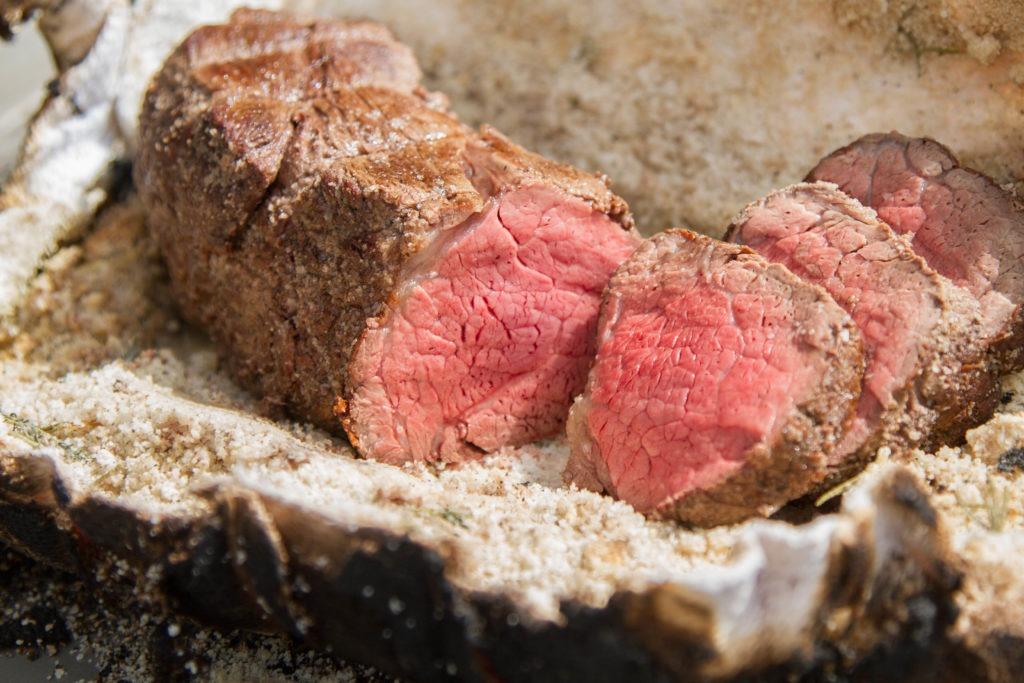 Medium Rare Beef Tenderloin