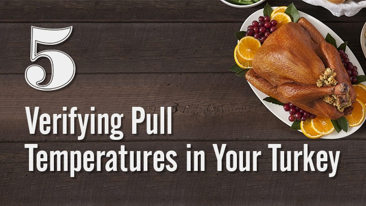 Verifying Pull Temperatures in Your Turkey