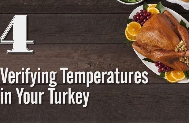 4: Verifying Temperatures in Your Turkey