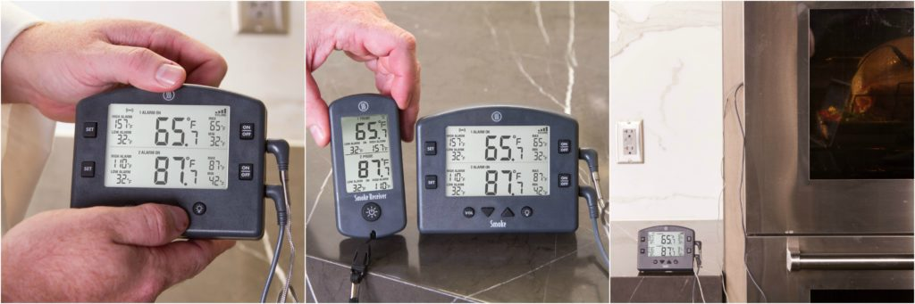Monitor your turkey's temperature with a good thermometer!