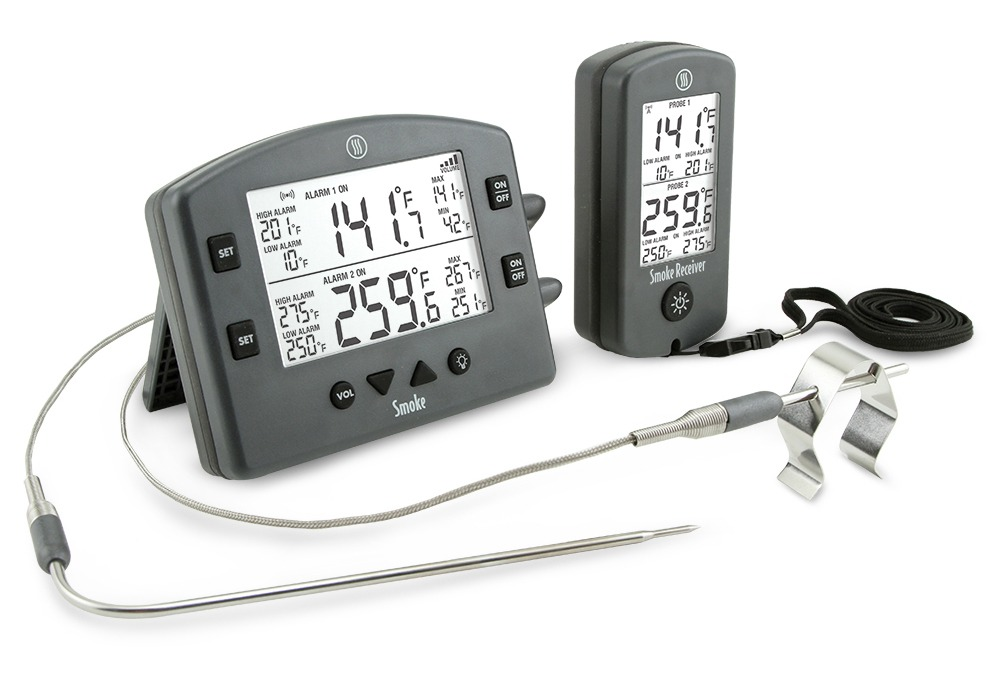 Smoke Dual Channel Thermometer