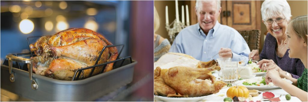 Temperatures help in knowing How to cook a turkey