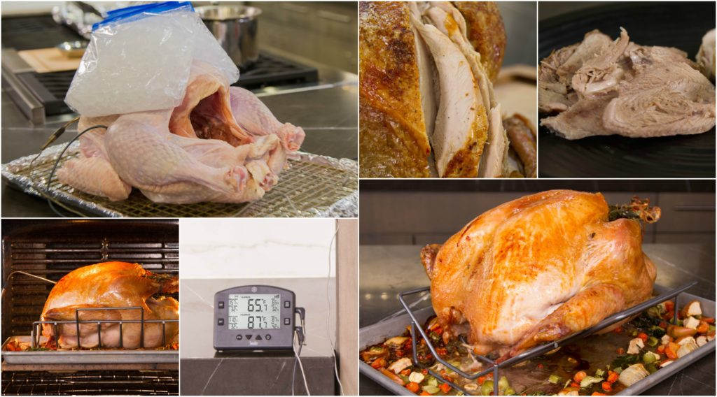 How long does it take to cook a turkey? Until it's done!