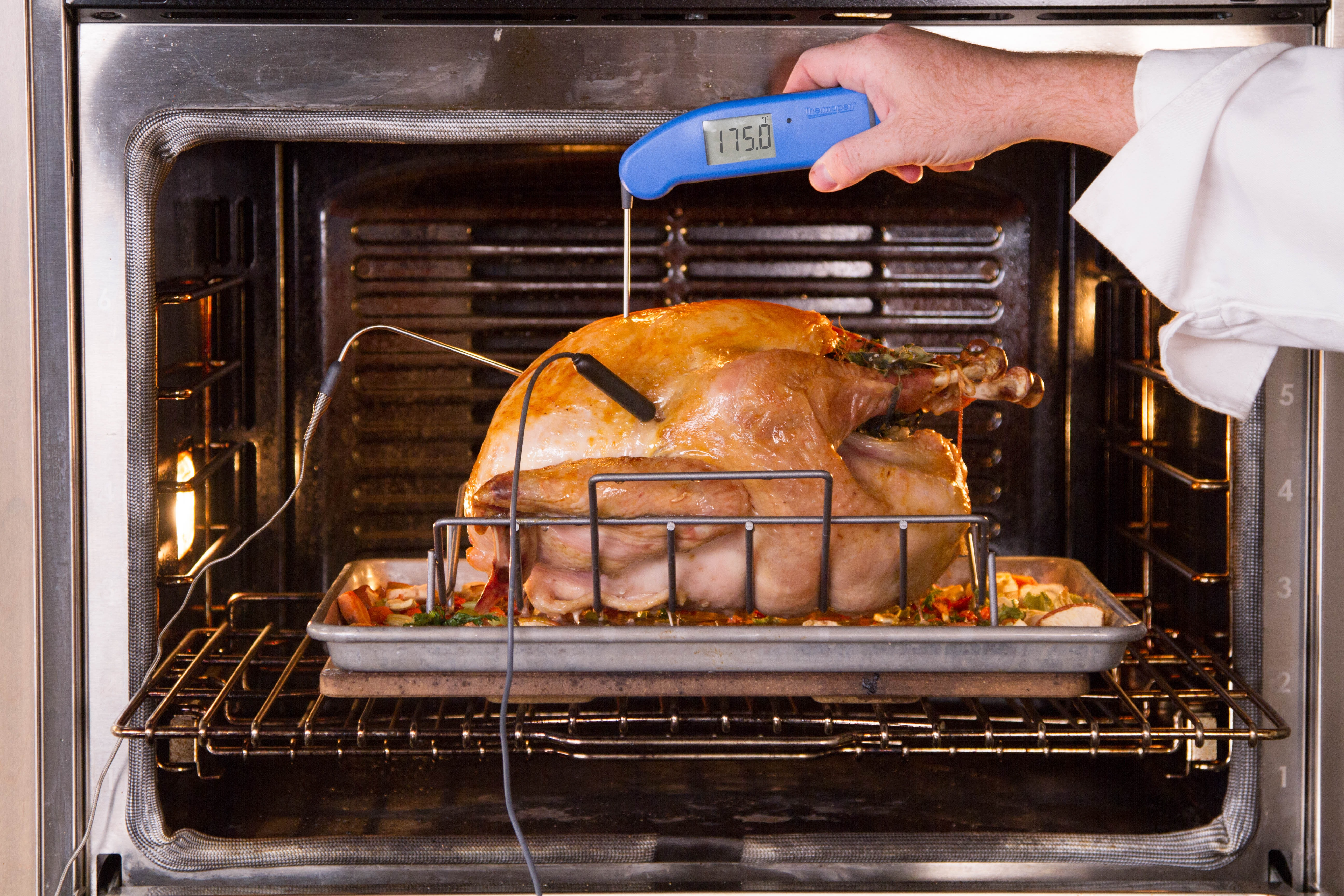 Verify your turkey's temp in several places