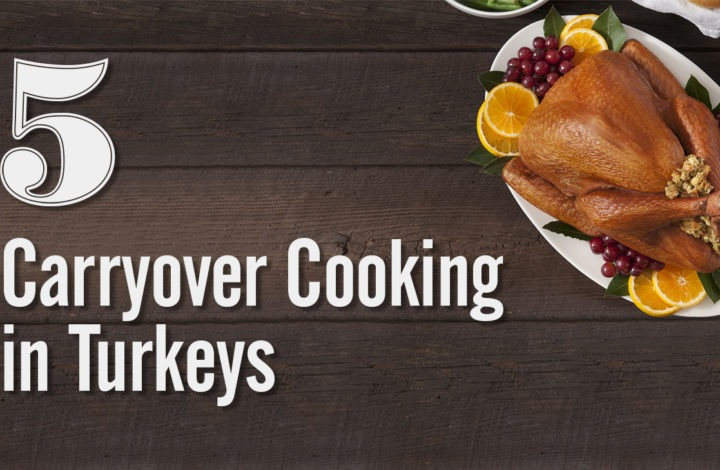 5: Carryover Cooking in Turkeys