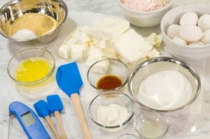 Cheesecake Ingredients Edit