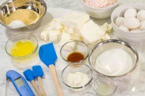 Cheesecake Ingredients Edit