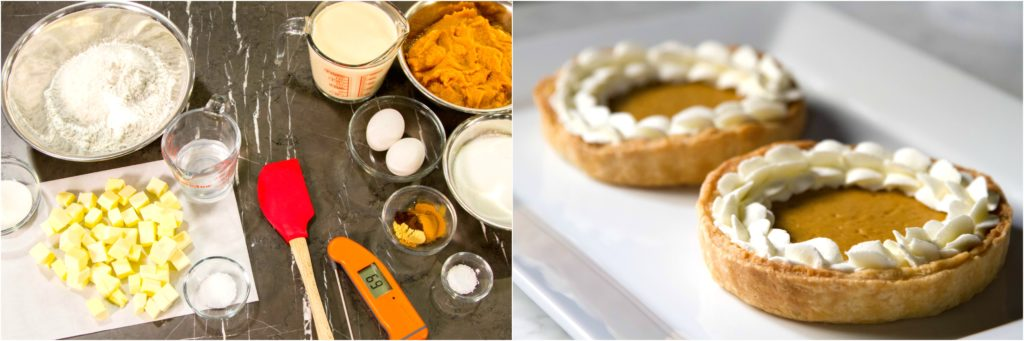 Pumpkin pie Thermapen Mk4 ThermoWorks Temperature