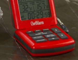 ThermoWorks ChefAlarm Carryover Cooking Resting Meat Temperatures
