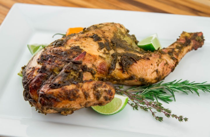 Cold Weather Grilling: Jamaican Jerk Chicken