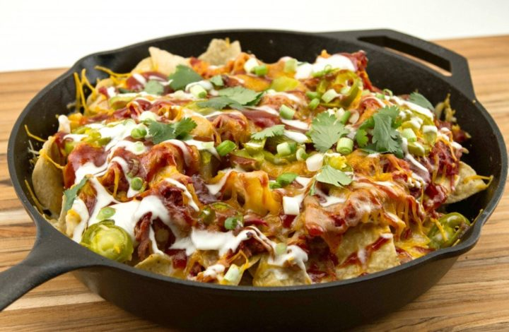 Smoked Pulled Pork: Game Day Loaded Nachos!