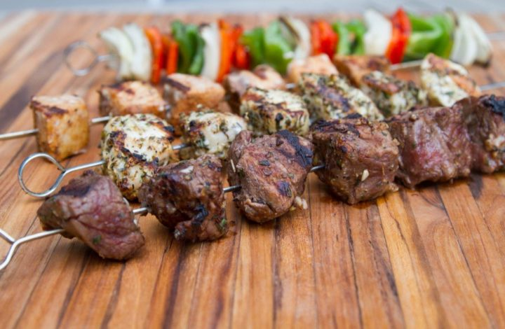 How to Grill Killer Kebabs: Tips for Beef, Chicken, & Swordfish
