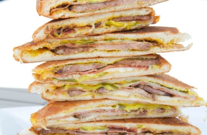 Cubanos: Roast Pork Shoulder Sandwiches with Latin Flair