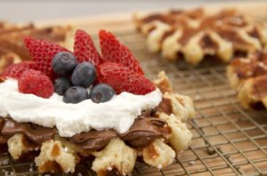 Waffles Garnished